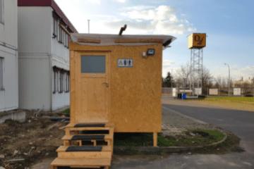 Leder Gewerbeimmobilien Sanitäranlagen