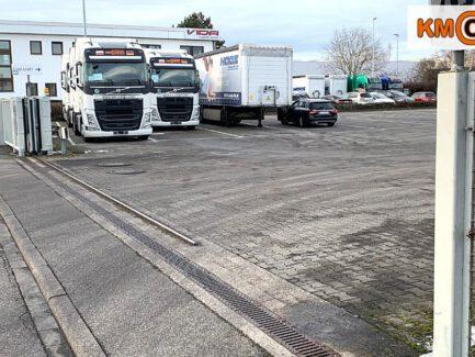 Spedition KM Cargo Einfahrt