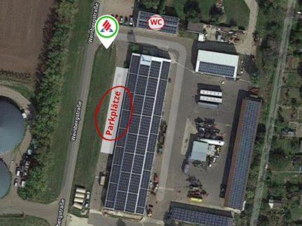 Karte Ansicht KRAVAG Truck Parking wm agrar