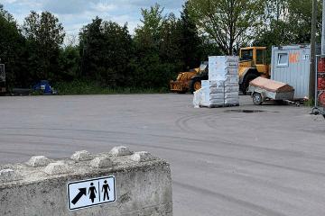 Cody Logistics Gelände WC