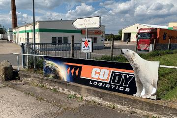 Cody Logistics Schilder
