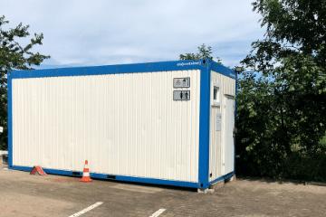Sanitärcontainer KRAVAG Truck Parking